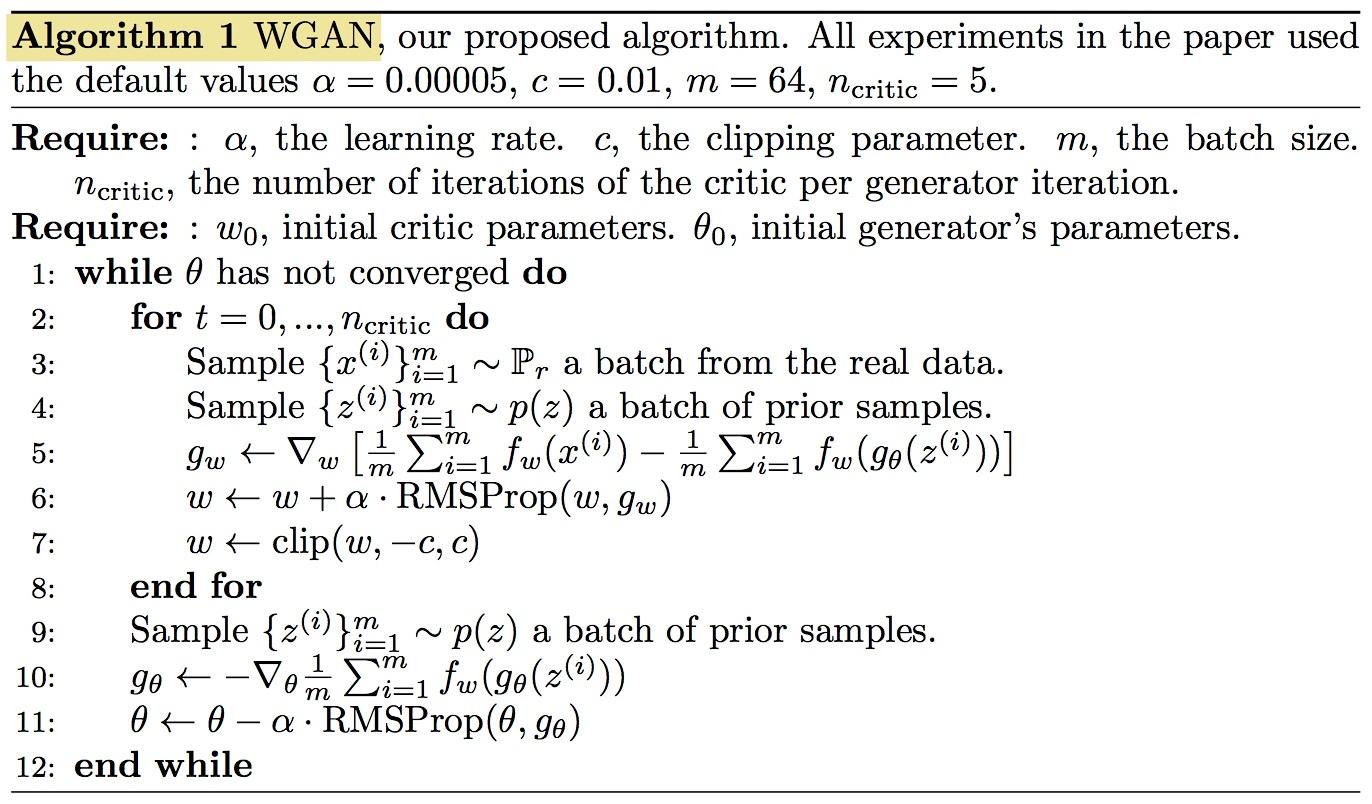 WGAN_algorithm